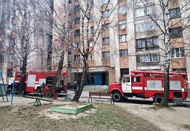 За лічені хвилини вогнеборці прибули на місце події