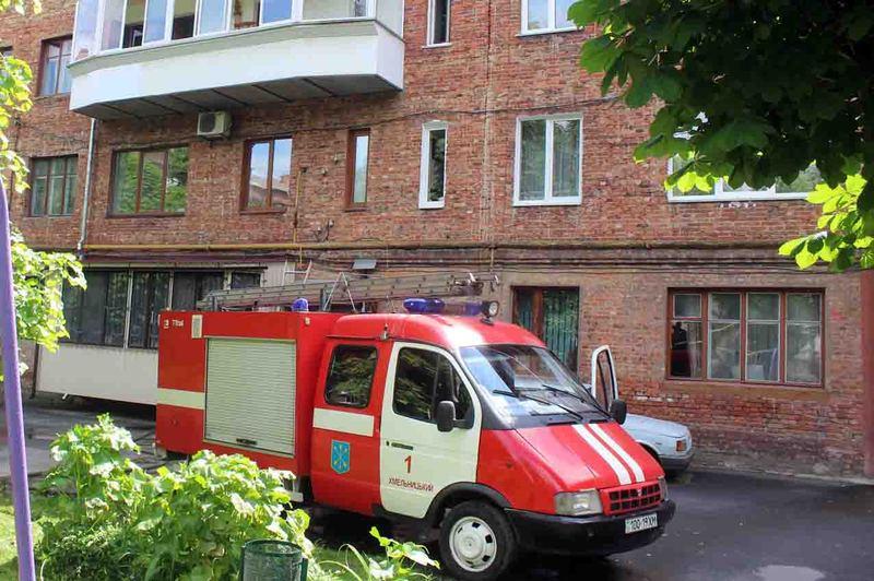 Вогнеборці ліквідували пожежу в багатоквартирному житловому будинку