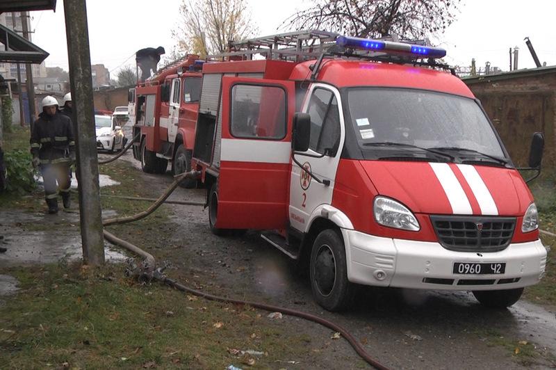 Вогнеборці ліквідували пожежу гаража