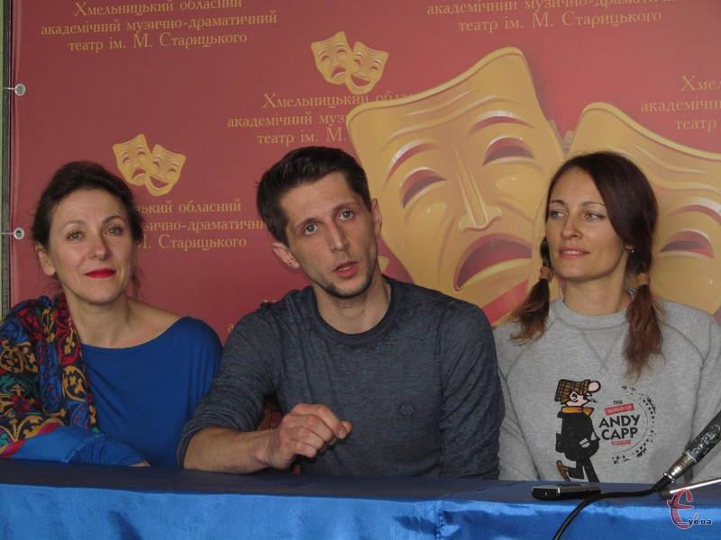 Юрій Саввон розповідає про роботу трупи над виставою
