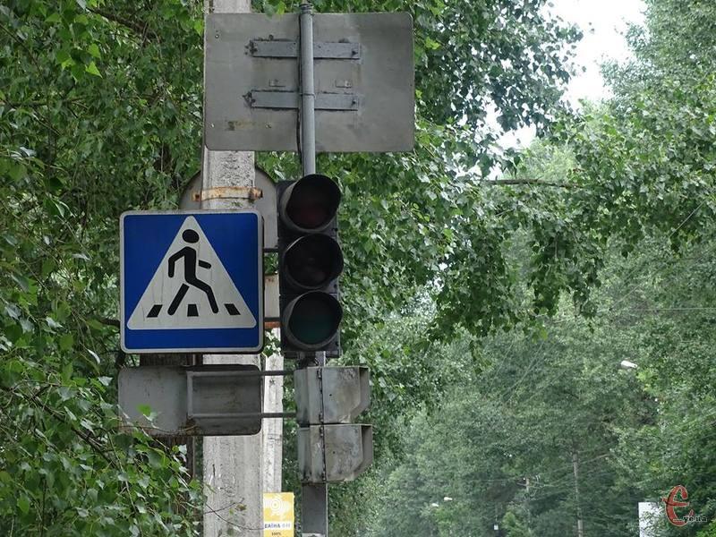 По місту не працюють світлофори