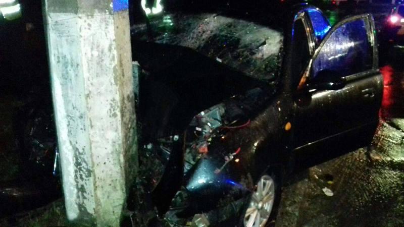 Усі, хто перебував в автомобілі, отримали травми