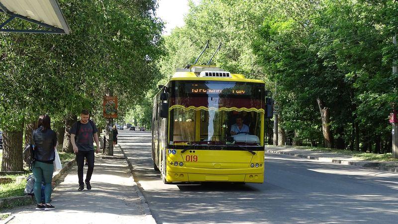 Тимчасово скасовано рух тролейбуса