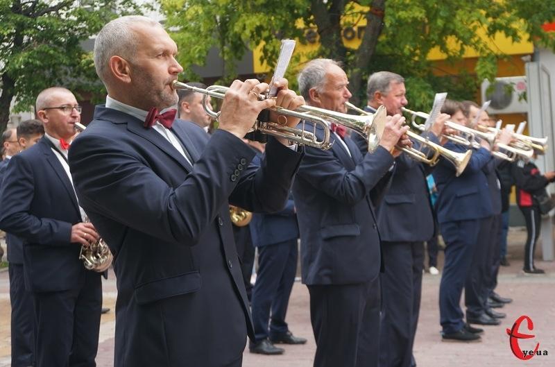 Фестиваль джазу проводиться традиційно раз на два роки