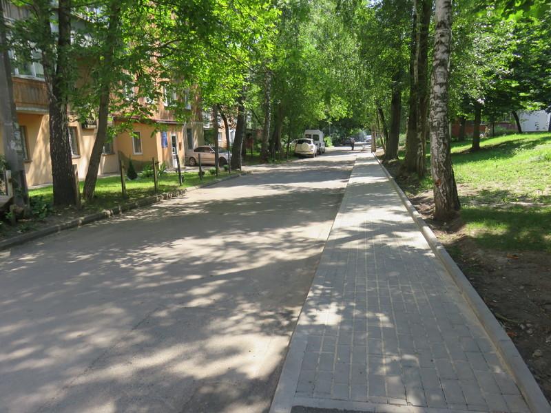 Нові тротуари роблять зручними для людей з особливими потребами, матерів з візочками та велосипедистів