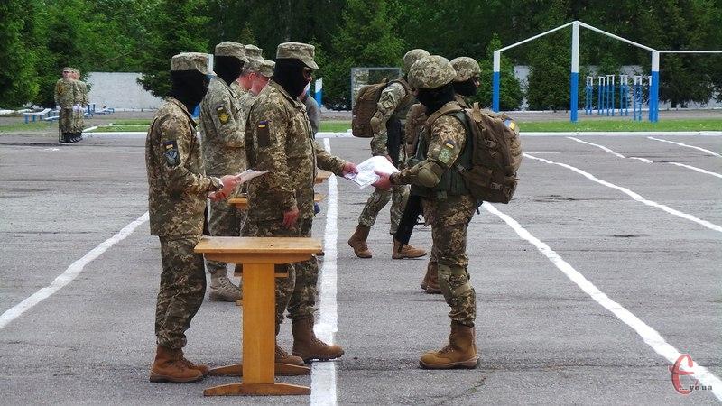 Завершився перший курс підготовки спецпризначенців