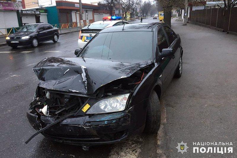 Аварія сталася на перехресті вулиць Чорновола та Трудової