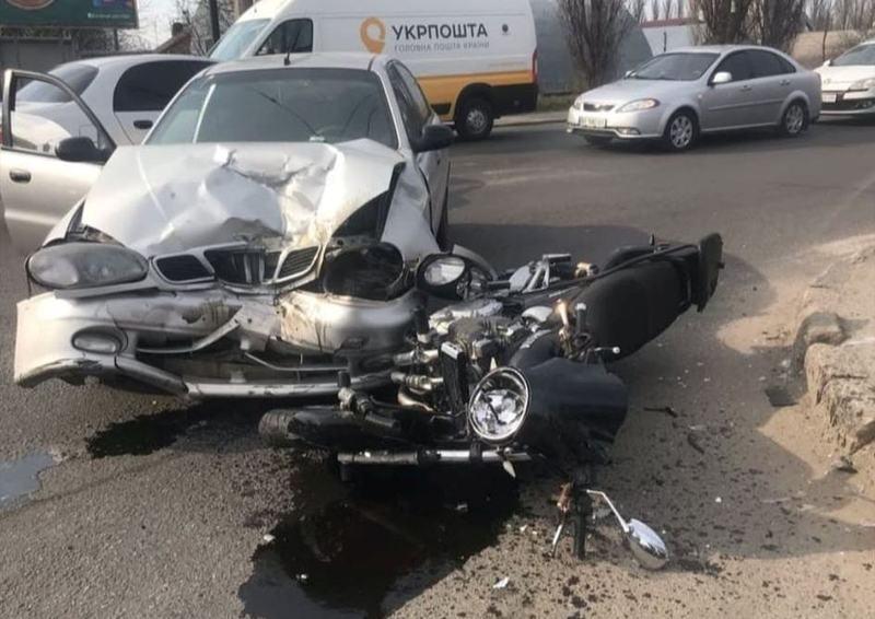 Аварія сталася на перехресті вулиць Чорновола – Трудова