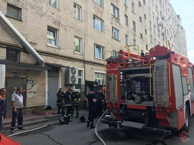 Причина пожежі, ймовірно, підпал