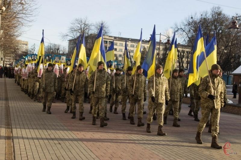 Запрошуємо хмельничан вшанувати відвагу, силу духу й жертовність громадян, які вийшли на мирний протест і віддали своє життя на Майдані