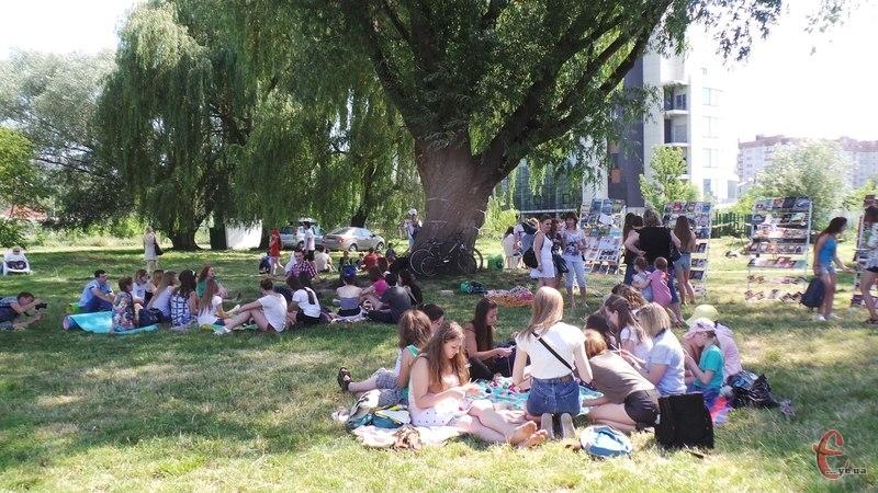 Молодь збереться у Молодіжному парку