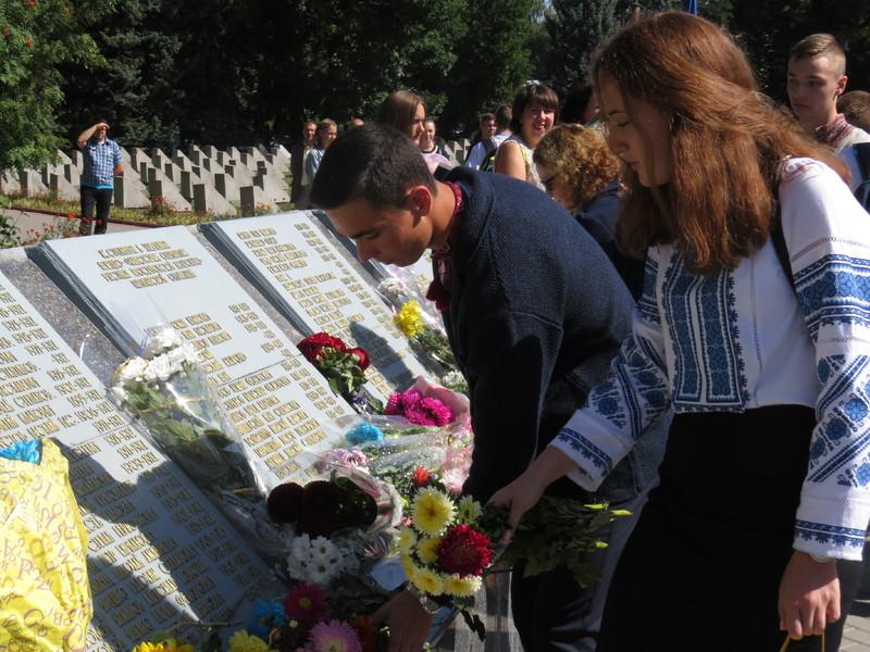 Хмельничани вшанували пам'ять полеглих у Другій світовій війні