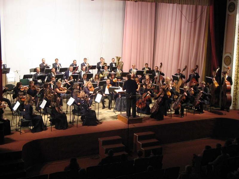 Деригент програми на концерті - Тарас Мартиник
