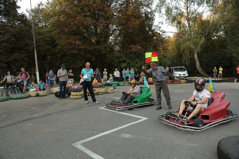 У змаганнях із картингу взяли участь 25 учасників
