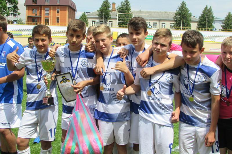 Футболісти Поділля U-14 стали чемпіонами Хмельницької області
