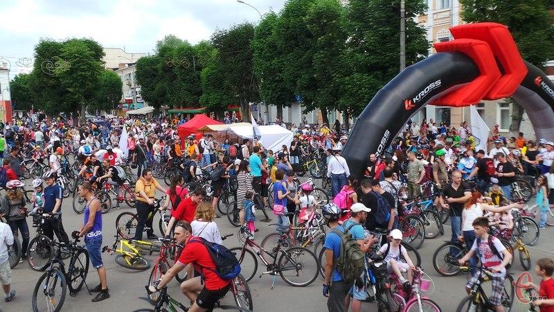 Мета веломарафону - популяризація велоспорту