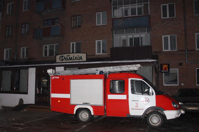 Вогнеборці врятували від знищення вогнем заклад громадського харчування