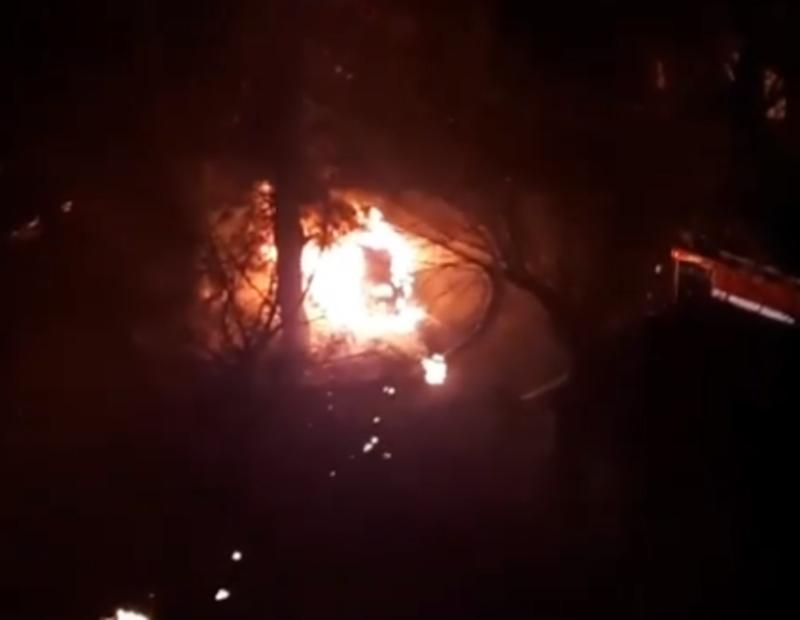 Причина пожежі автомобіля поки невідома