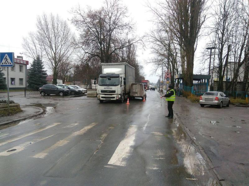 Сьогодні на вулиці Курчатова, 18 сталася дорожньо-транспортна пригода