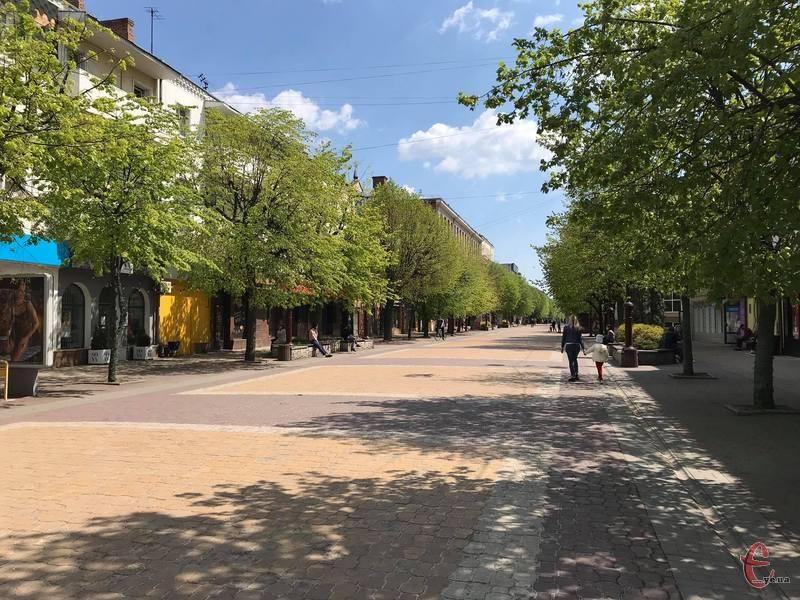 Незабаром вулиця Проскурівська виглядатиме по-новому
