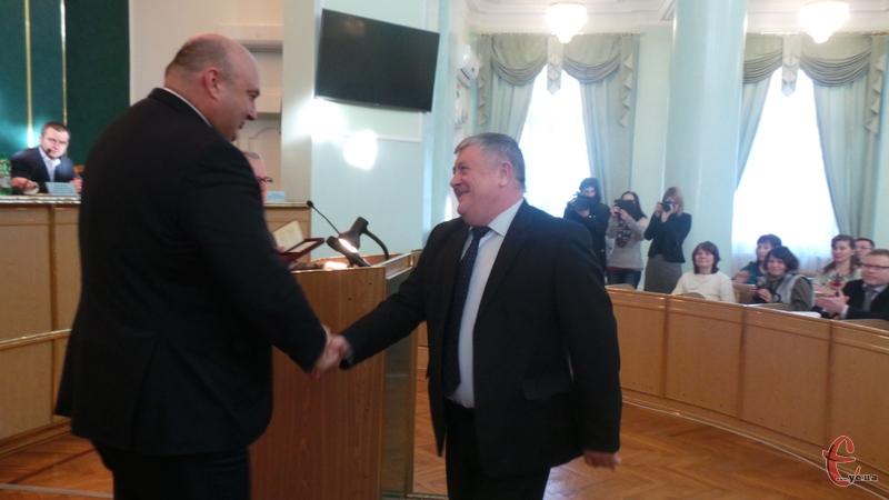 Державну нагороду в енергетичній сфері краю отримав Мар'ян Мушинський