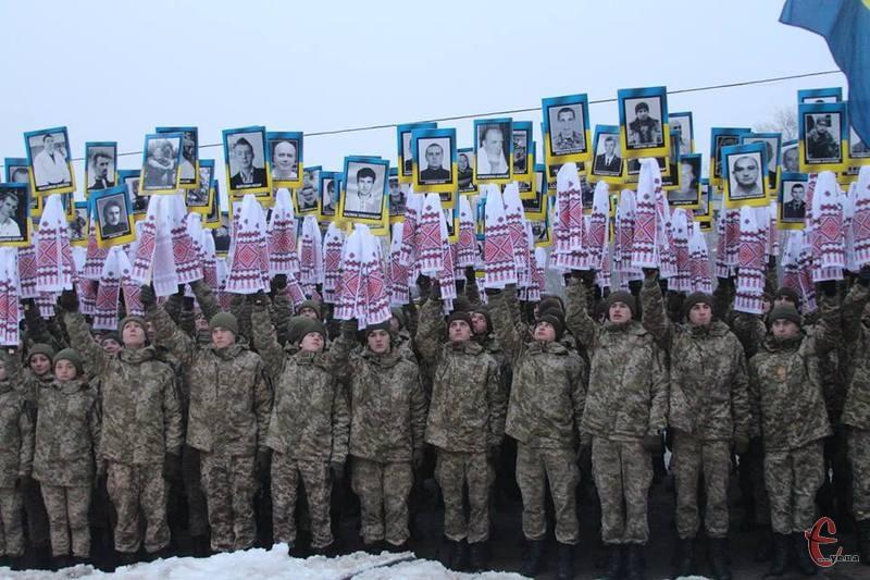 У Хмельницькому вшановують пам'ять тих, хто загинув під час Революції Гідності