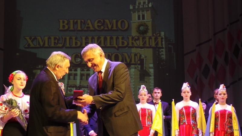 У Хмельницькому нагородили найкращих мешканців за вагомий вклад у розвиток міста