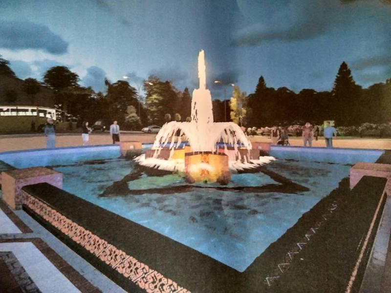 Страрі фонтани реконструюють