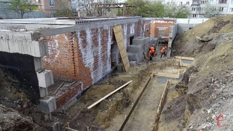 Будівництво добудови планують завершити у 2020 році