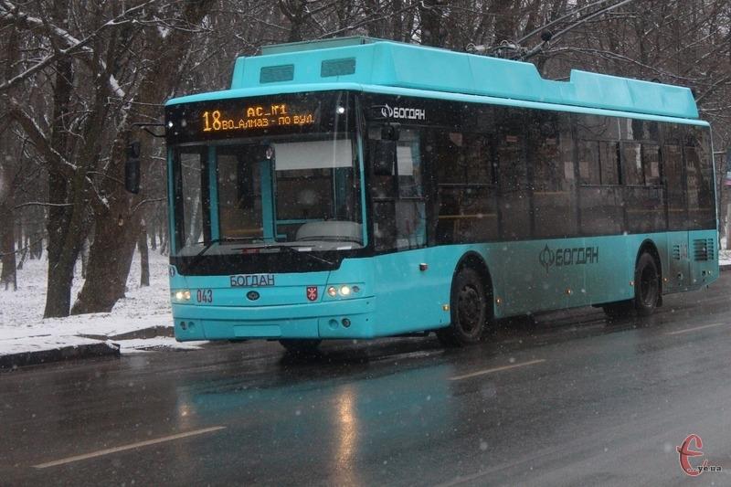 Зі 121 тролейбуса, що нині перебувають на балансі «Електротрансу», 87 вже відпрацювали свій термін експлуатації
