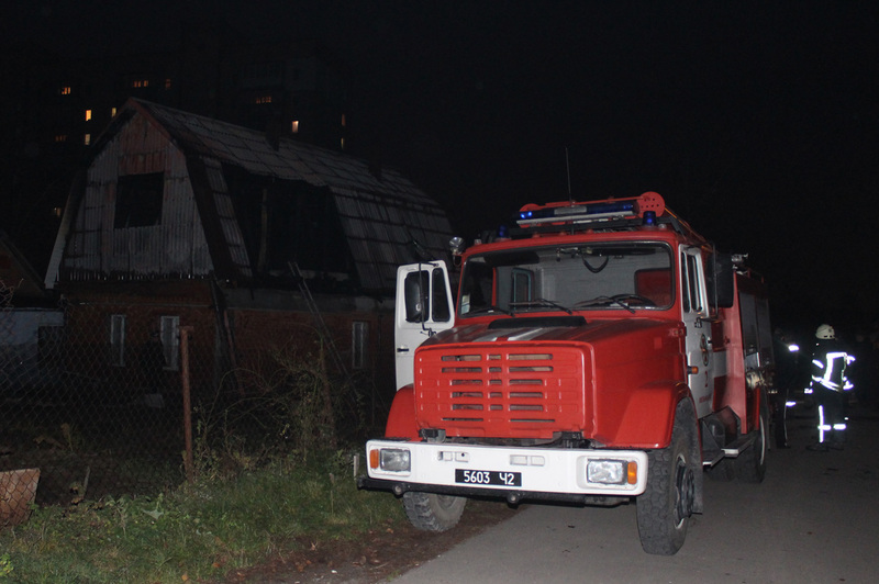 Рятувальники загасили вогонь, ніхто з людей не постраждав