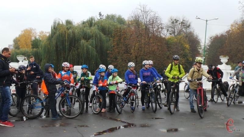 Закриватимуть велосезон заїздом по місту