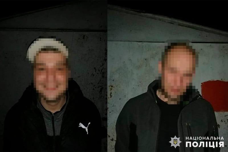 Підозрюваними виявилися двоє хмельничан 30 та 36 років