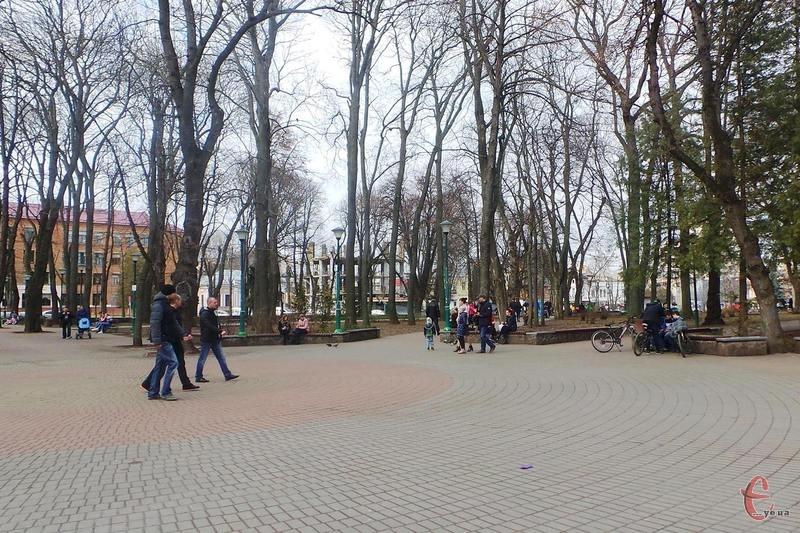 Сквер імені Т. Шевченка не дозволили забудовувати