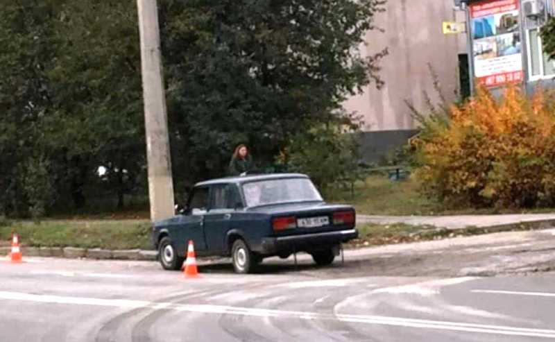 Аварія сталася на вулиці Панаса Мирного