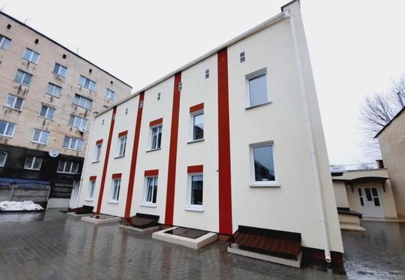 Відділення збудували на вулиці Перемоги, 7А при міському територіальному центрі соціального обслуговування
