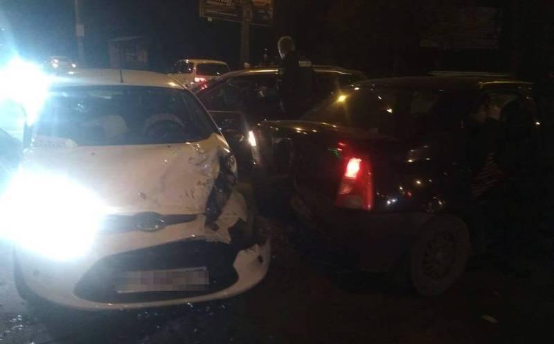 Аварія сталася на перехресті вулиць Прибузька – Свободи