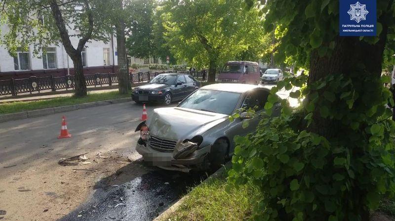 Аварія сталася на вулиці Гагаріна