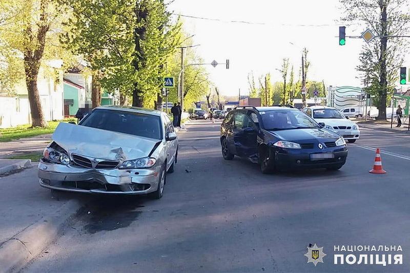 Аварія сталася на вулиці Кам'янецькій біля Автостанції №5