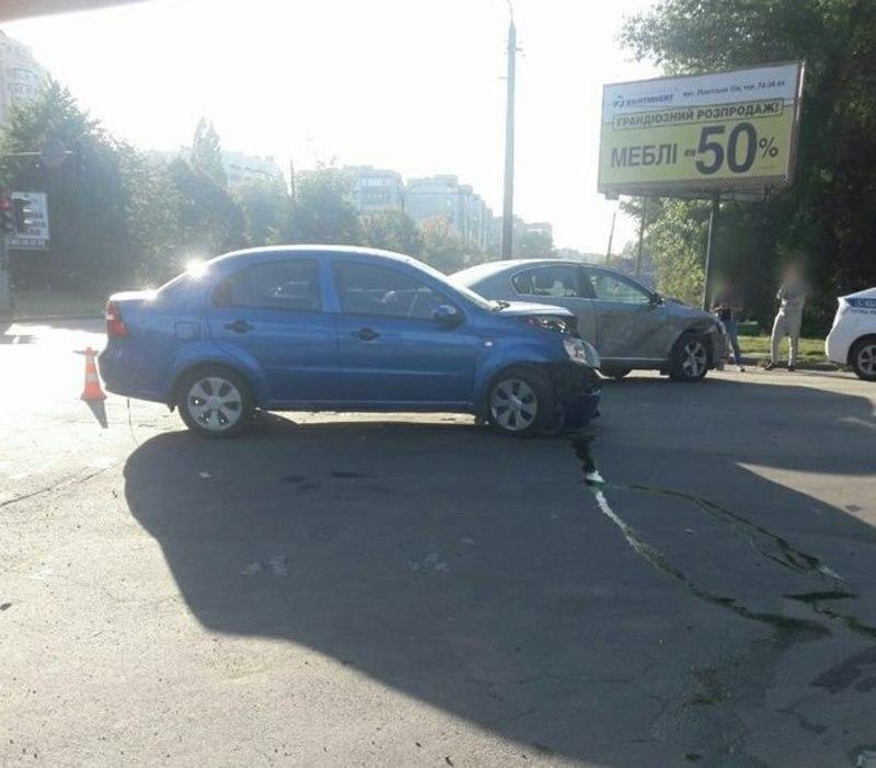 У ДТП постраждала пасажирка одного із автомобілів