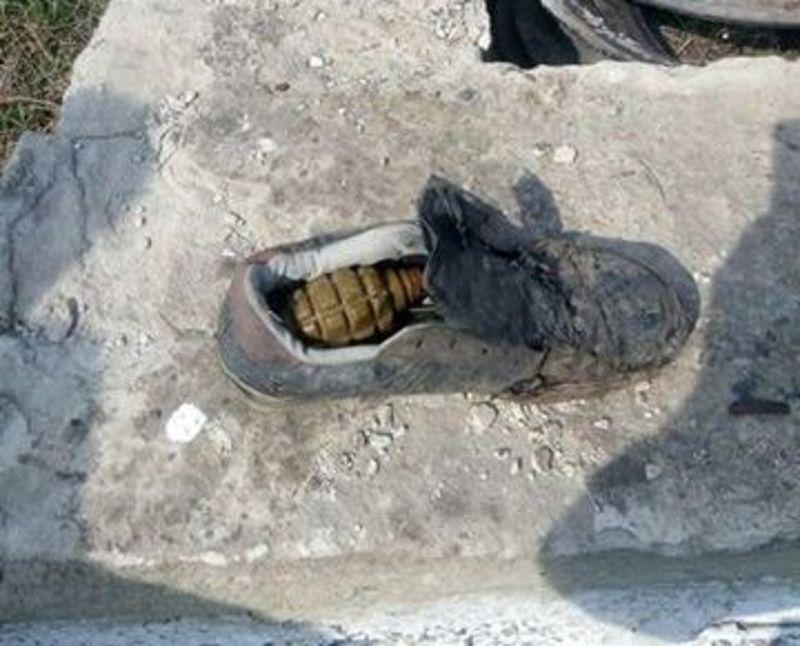 Граната лежала у черевикові