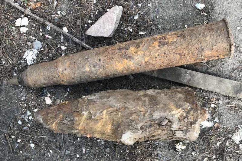 Снаряди, які сьогодні знайшли,одразу знищили
