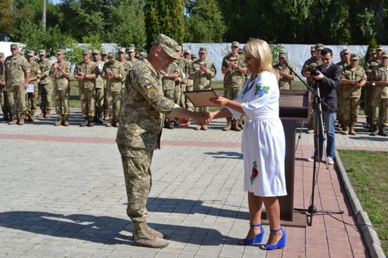 Військові отримали нагороди