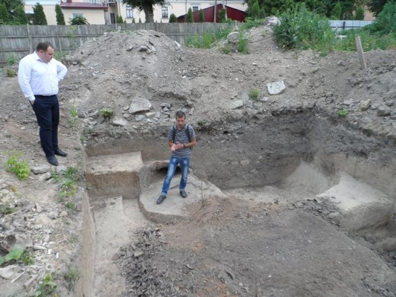 У Кам'янці – нова археологічна знахідка