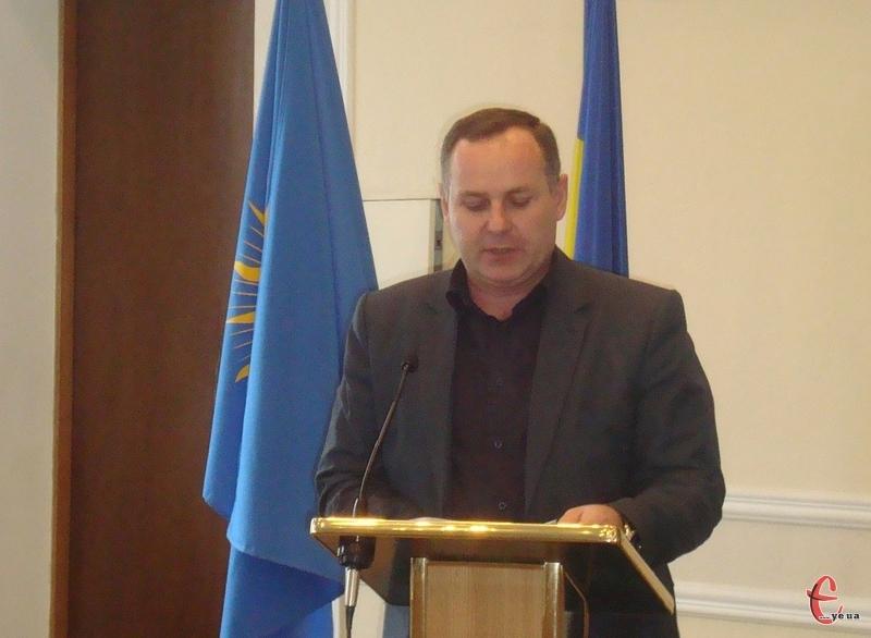 Володимир Калашнік звітує про роботу