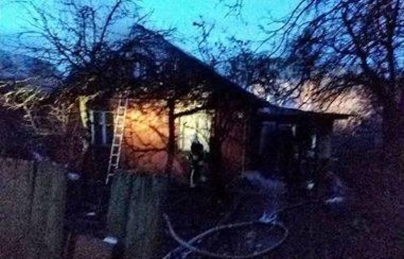 Будинок спалахнув за адресою вул. М. Харченка, 56