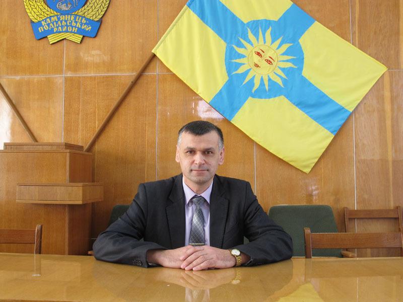 Віктор Кривак - був заступником, а тепер став головою райради
