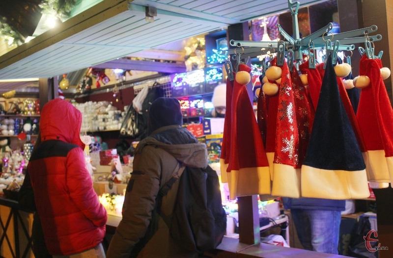 З 19 грудня по 10 січня в місті триватиме Різдвяний ярмарок