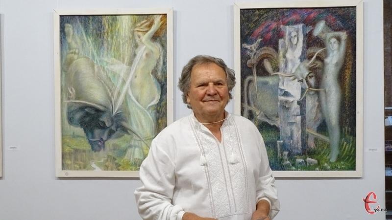 У Хмельницькому в 2018-му художник представляв виставку своїх картин із серії «Скіфи», «Ангели» і «Метаморфози»