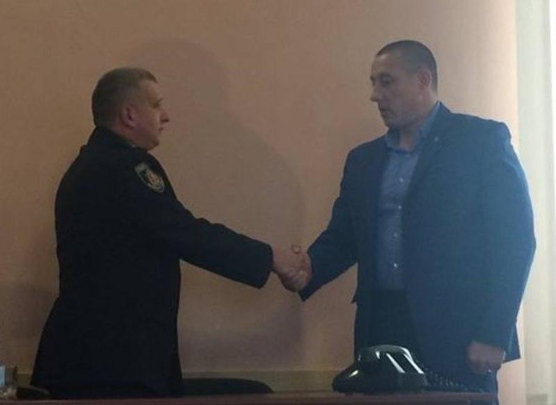 У Кам'янці-Подільському представили нового начальника поліції